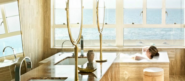Luxury-Boutique-Hotel-Interior-Design-of-The-Tides-South-Beach-Hotel-Miami-Beach-Florida-Amber-Suite-Bath-620x271
