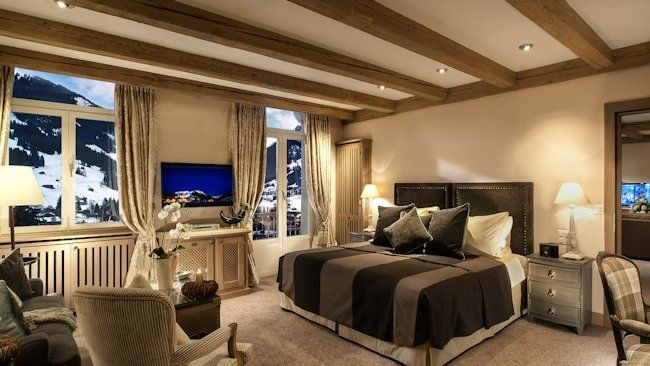 Gstaad-Palace-Tower-Suite-Bedroom